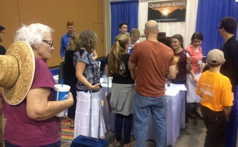 My Weekend at the Generation Rising AuthorsBooth