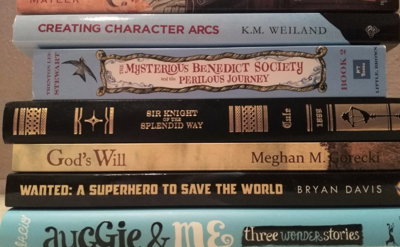 My Summer Reading Stack<3